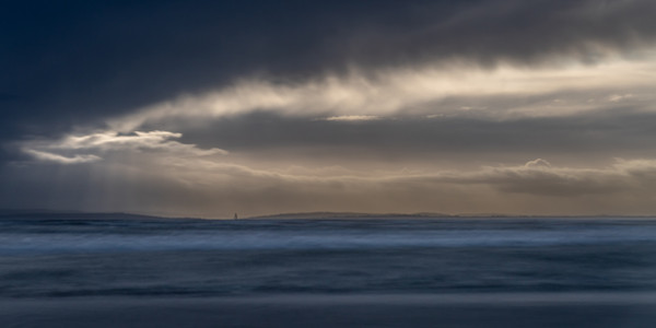Across The Estuary - looming storm