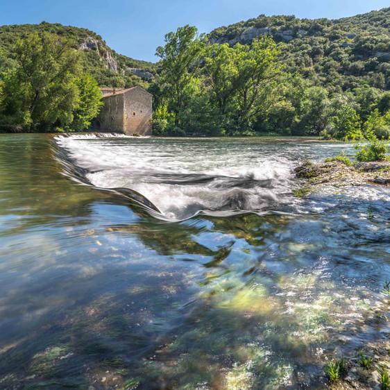 The Ceze river flow