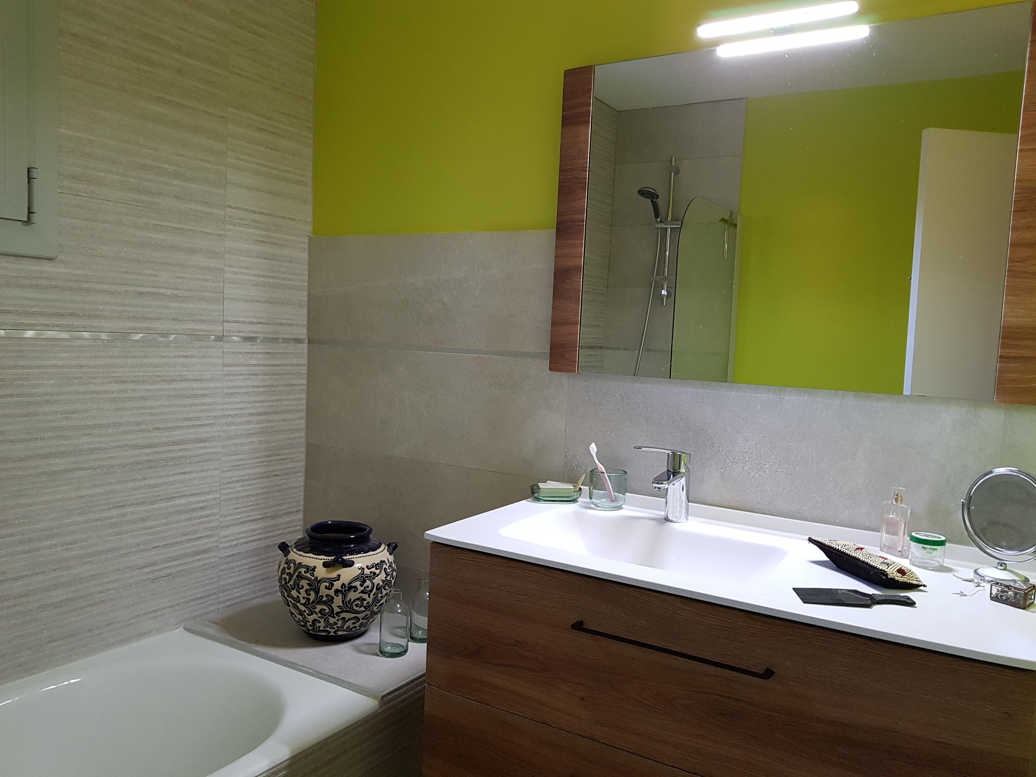 Salle de bain de l'olivier