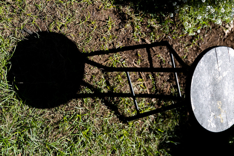 chair with shadow
