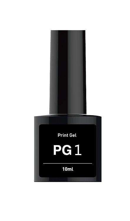 PG-1* (Гел Основа за печат) бяла перла (10ml/шишенце)