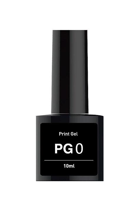 PG-0*  (Гел Основа за печат) прозрачен (10ml/шишенце)