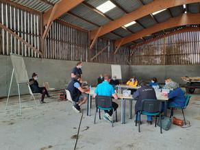 ANIMAGINE au domaine expérimental du Pin dans l'Orne pour échanger sur l'élevage bovin