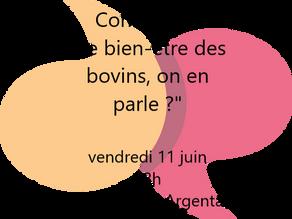 """ANIMAGINE en Normandie : conférence du 11 juin """"Le bien-être animal, on en parle ?"""""""