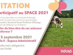 Le LIT OUESTEREL au SPACE 2021 : stand, atelier et webinaire