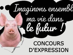 Concours d'expression en Bretagne ouvert ! Imaginez la vie d'un cochon dans l'élevage du futur