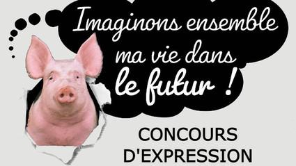 Concours d'expression en Bretagne ouvert ! Imaginez la vie d'un cochon d'élevage dans le futur