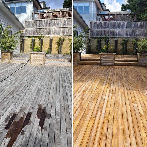 Deck Water Blasting
