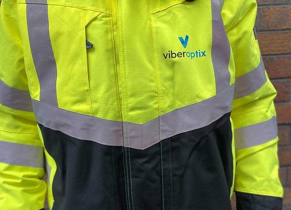 Viberoptix Waterproof Hi-Vis Coat (Mascott)
