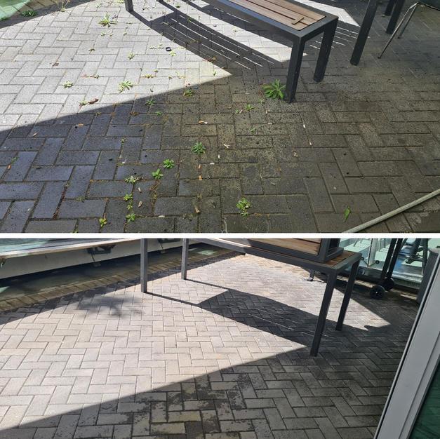 Water Blasting (Pavement)