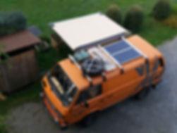 Dachträger für VW T3 Syncro