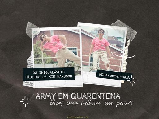 Army em Quarentena | Dicas Para Melhorar Esse Período #4