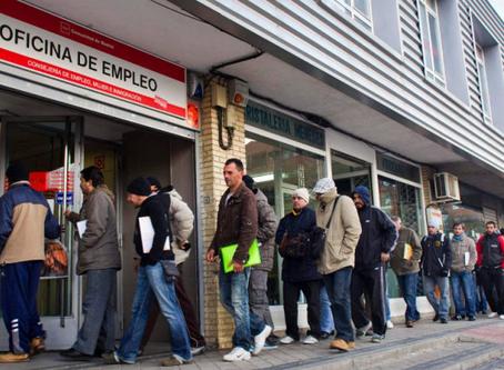 El FMI prevé una caída histórica de la economía española del 8% para este 2020