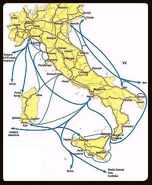 Italy Hyrdrofoils & Ferries