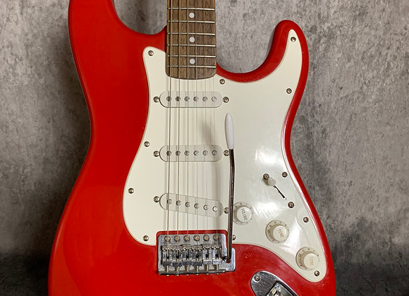 Fender Squier Affinity Stratocaster in Red