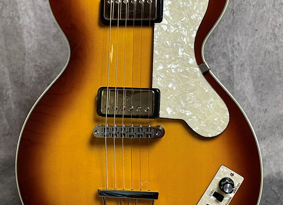 Hofner CT Club with upgrades