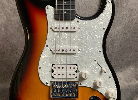 Fretlight 400 Series Optek electric guitar in tobacco sunburst