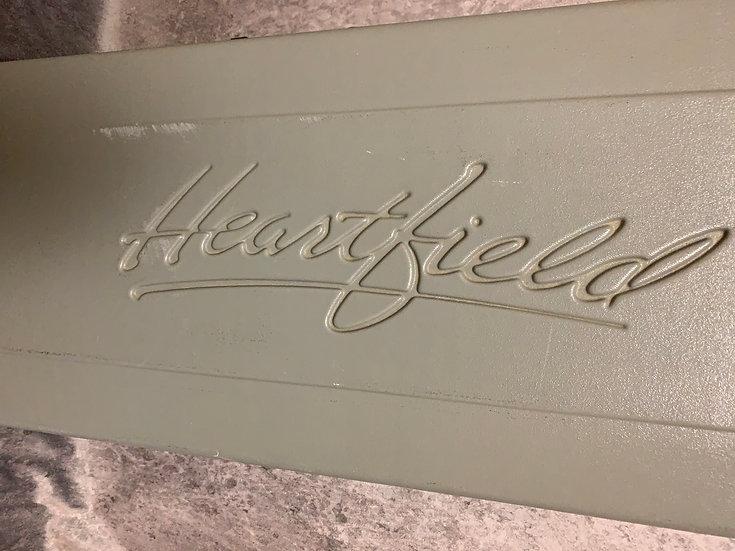 Vintage Fender Heartfield molded plastic Case