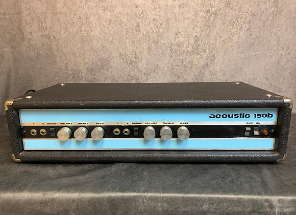 Acoustic 150 B Bass Head from 1975