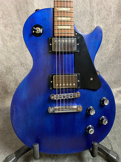 2011 Gibson Les Paul Studio in transparent Blue