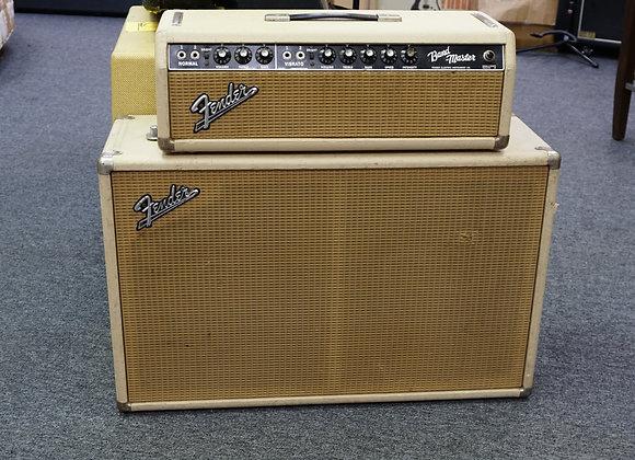 1965 Fender Bandmaster in white blonde tolex.