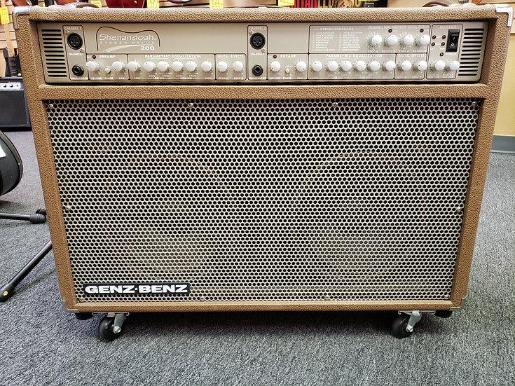 Genz Benz Shenandoah Stereo Deluxe 200 Amplifier