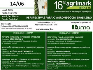 16º Agrimark - 14/06/2019 - Programação