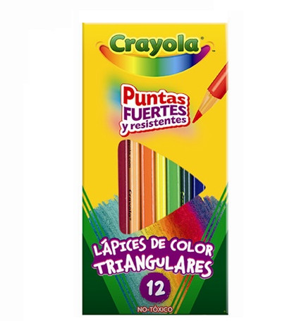 Colores triangulares Crayola   Papelera Cuauhtémoc de Toluca   Tu ...