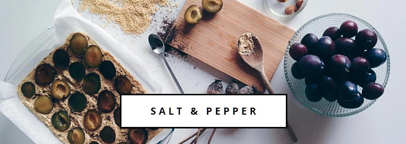 salt and pepper food blog
