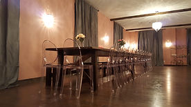 KITSPA & Events custom banquet hall table