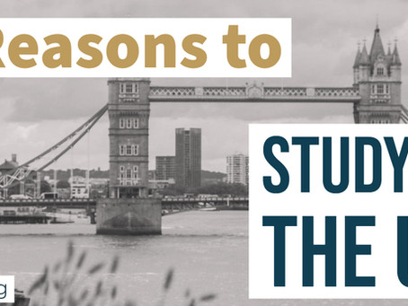 8 Reasons to study in the UK