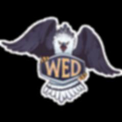 Harpy Mascot Badge Front Pose Harpy-02_e