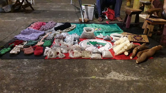 Assentado oferece sementes crioulas e produtos artesanais na Praça das Artes