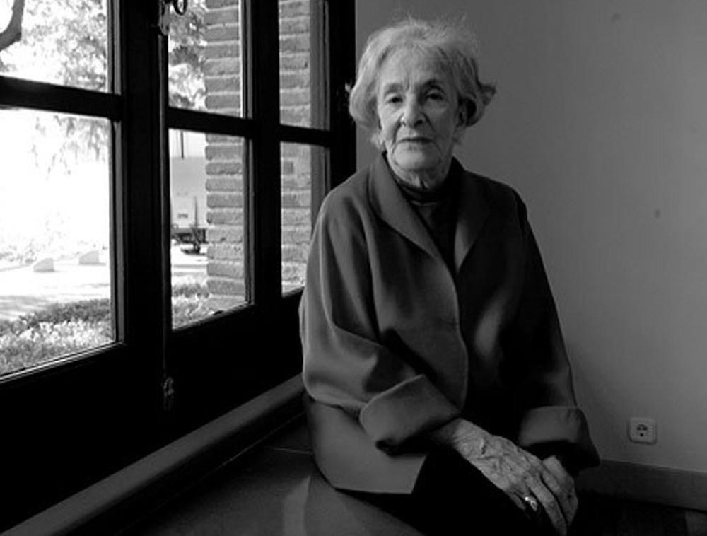 Ida Vitale, ganhadora do Prêmio Cervantes 2018 — Foto: Reprodução/Twitter