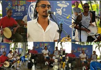 ARTE NA PRAÇA 2 - Barracão do Samba faz a festa em pleno sábado de carnaval