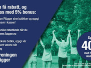 Flügger kampanje 40% avslag