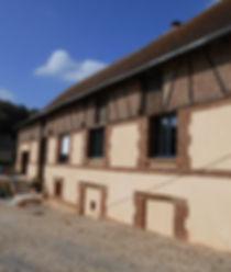 Rénovation ferme Glisolles, Eure