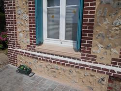 Rénovation appui de fenêtre