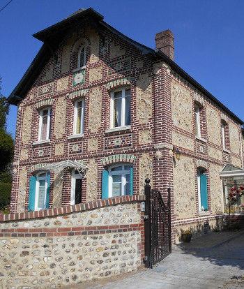Rénovation brique silex St Jacques sur D., Seine-Maritime