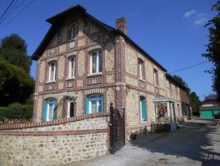 Rénovation de façades en brique et silex à Saint Jacques sur Darnetal, Seine-Maritime