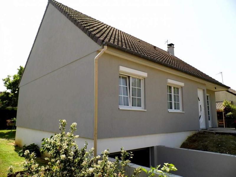Maison à ossature bois rénovée.