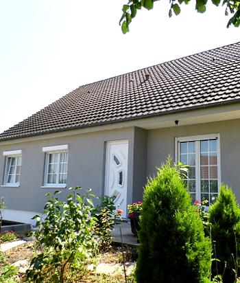 Rénovation ossature bois à Méru, Oise