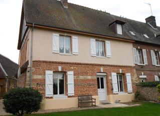 Rénovation d'une maison du XVIII siècle à Neuf Marche, Seine-Maritime
