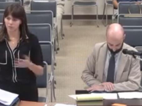 PSR's Laura Dagley Testifies!