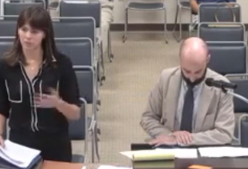 laura dagley testifies 2019