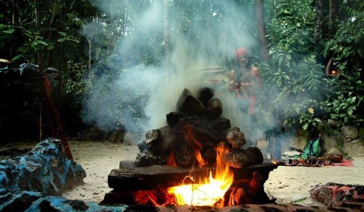 Ritual Fire Ceremony
