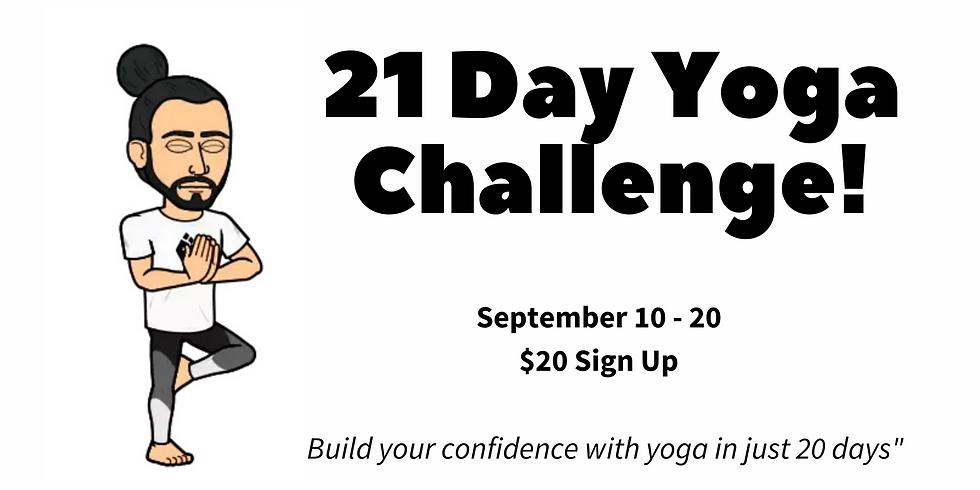 21 Day Yoga Challenge