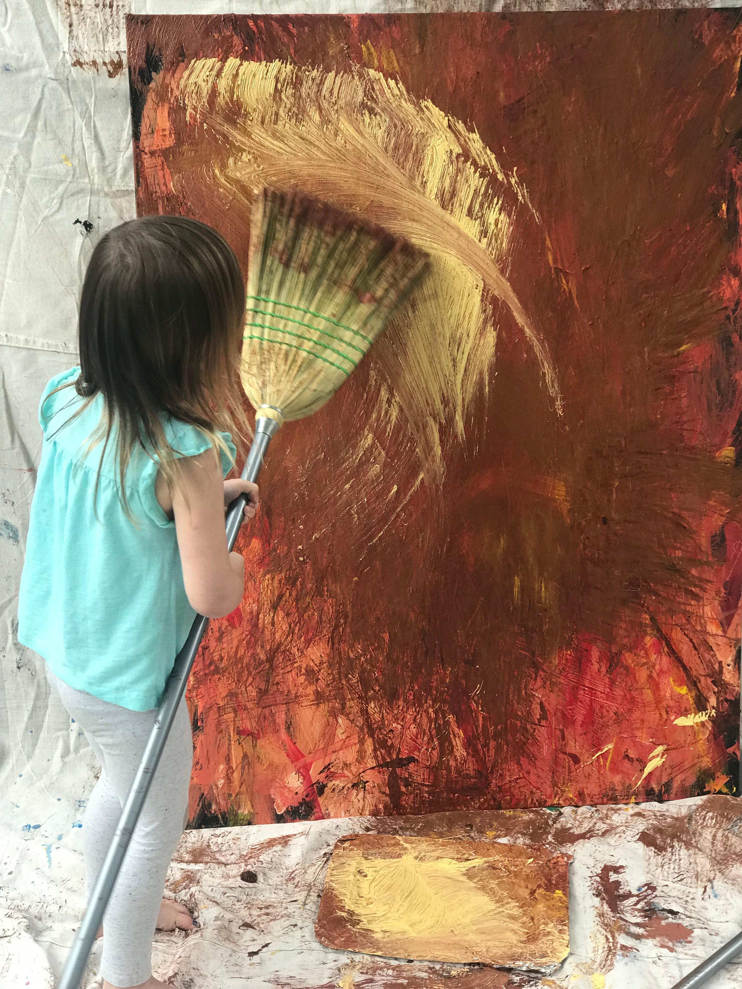 Online Pre-K and K Art Exploration