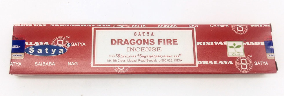 Satya Dragon Fire incense