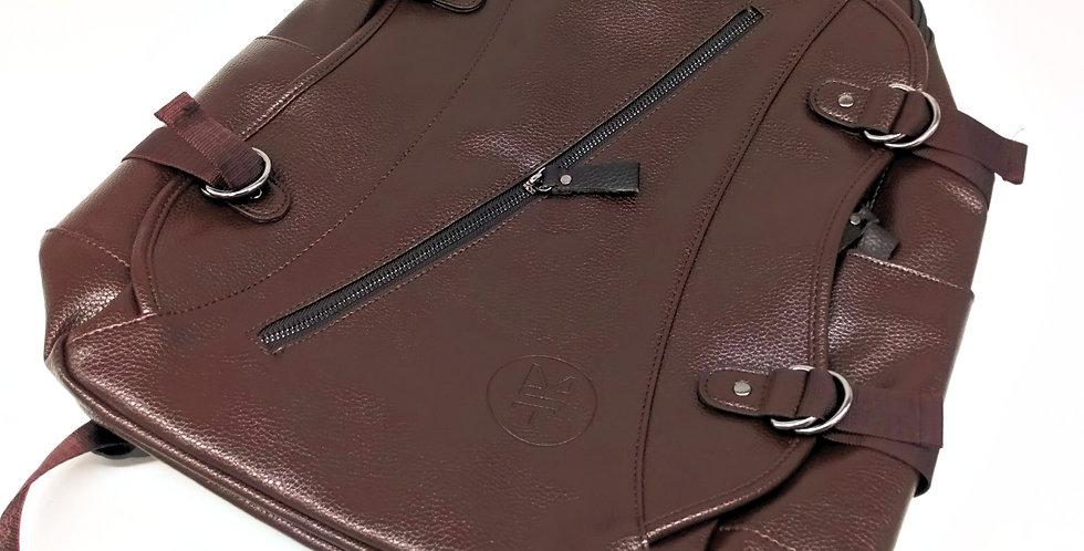 Brown MST backpack / charging port